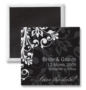 DESIGN 03 Colour- Black Magnet from Zazzle.com_1244789079396