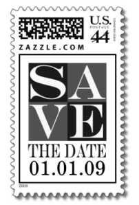 Save The Date Template Event And Wedding Postage from Zazzle.com_1244529831508