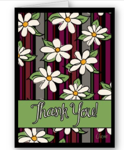 Thank You Card from Zazzle.com_1244009245017