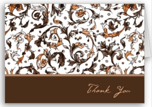 Vintage Floral Print Card from Zazzle.com_1246342667668