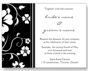 Wedding Invitation Postcard from Zazzle.com_1244442235243