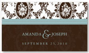 Wedding Website Business Card-Victorian Romance from Zazzle.com_1246256087792