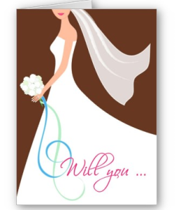 Will You- Cutstom Bridesmaid Card - Chocolate from Zazzle.com_1245309026657