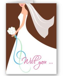 Will You- Cutstom Bridesmaid Card - Chocolate from Zazzle.com_1245309026657