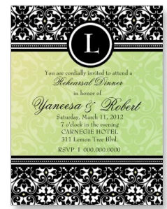311-LUSCIOUS LEMON-LIME DAMASK INVITATION Postcard from Zazzle.com_1247983152950
