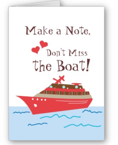 Cruise Ship Save the Wedding Date Card from Zazzle.com_1247637589276