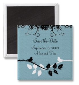 Save the Date Magnet from Zazzle.com_1248330683132