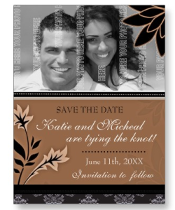Save the Date Postcard from Zazzle.com_1248160874970