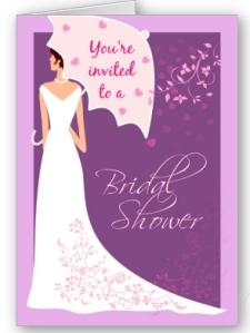 Bridal Shower Invitation Card from Zazzle.com_1250665439458