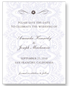 Save The Date Postcard-Vintage Blossom Lavender from Zazzle.com_1250322875312