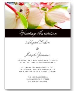 Wedding Invitation Postcards from Zazzle.com_1249111090901